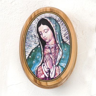 Our Lady of Guadalupe Rosary Box RBW1435