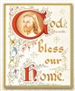 God Bless Our Home Wall Plaque 810-387