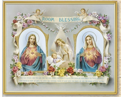 Room Blessing Wall Plaque 810-390