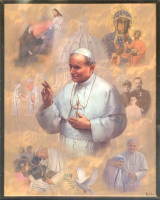 St. Pope John Paul II Wall Plaque  810-571