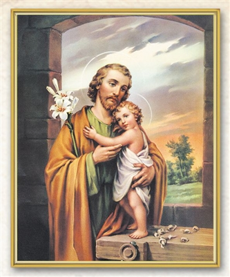 St. Joseph Wall Plaque 810-630