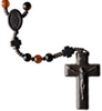 Agate 8mm Bead Jujube Wood Rosary R4058