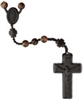 Tiger Eye 8mm Bead Jujube Wood Rosary R4258
