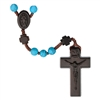 6mm Turquoise/Jujube Wood Rosary R4156