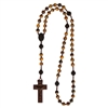 Tiger Eye 6mm Bead Jujube Rosary R4256