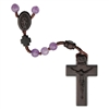 6mm Amethyst/Jujube Wood Rosary R4456