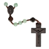 6mm Green Jade/Jujube Wood Rosary R4756