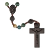 6mm Multicolor/Jujube Wood Rosary R4856