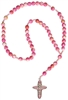 Rosary Child's Pink Gemstone RC41