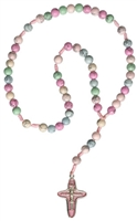 Rosary Child's Gemstone Rainbow RC45