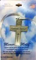 In Memory Someone Special Pewter Cross FC2020