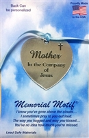 Mother In The Company of Jesus Pewter Memorial Medal FC3000