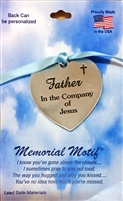 Father In The Company of Jesus Memorial Pewter Medal FC3001