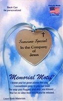 Someone Special In The Company of Jesus Memorial Pewter Medal FC3005