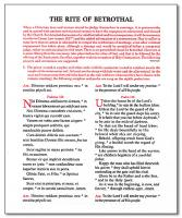 The Rite of Betrothal Guide