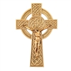"8"" Pewter Knotted Celtic Crucifix JC-9222-K"