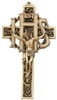 IHS Gold Wall Crucifix JC-850-K