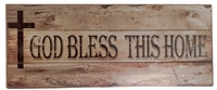God Bless This Home Wall Plaque BK-84