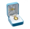 Saint Benedict Jubilee Gold Over Sterling Silver Medal GS1680BK18