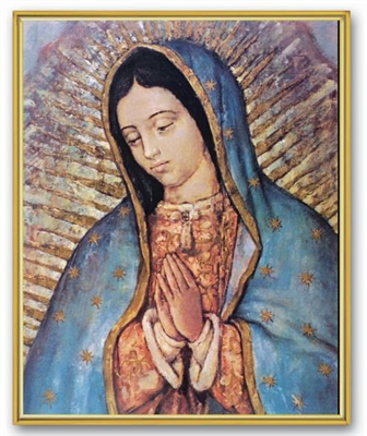 Guadalupe Wall Plaque 810-217