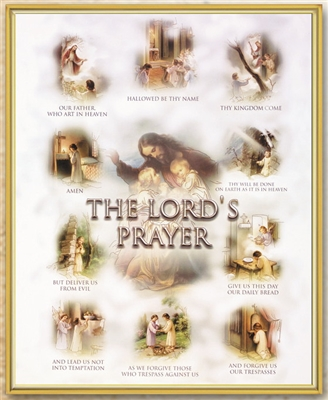 The Lord's Prayer Wall Plaque 810-112