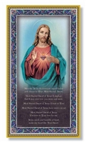 Sacred Heart of Jesus Plaque E59-101