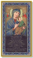 Mother of Perpetual Help Plaque E59-208