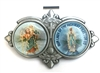 Saint Christopher and Our Lady of the Highway Auto Visor Clip VR-293