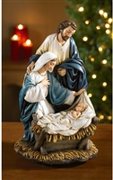 Nativity Come Let Us Adore Him Figurine Musical Statue RC965