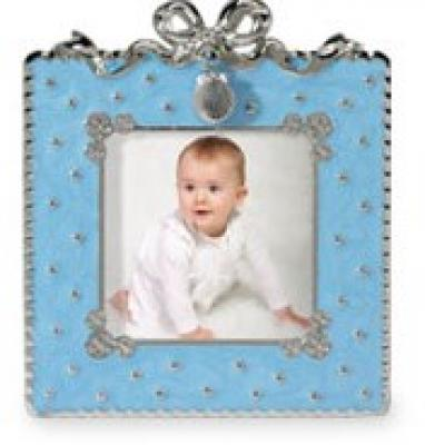 Pearlized Enamel Photo Frame