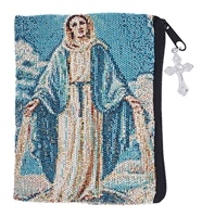 Tapestry Rosary Case - Our Lady Of Grace B2085