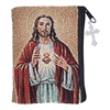 Sacred Heart of Jesus Tapestry Rosary Case B2088