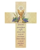 First Communion Wood Cross B2291