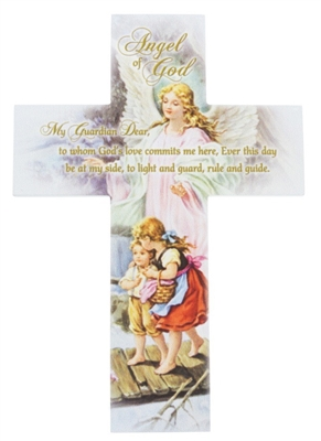 Angel of God Wall Cross B2292
