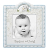 Baptized in Christ Blue Photo Frame D3083