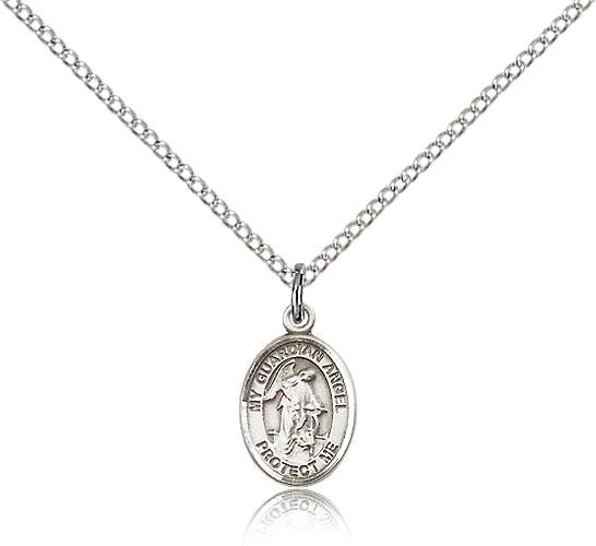 pendant sterling plated optional angel our personalisation on chain gold silver and rose guardian with
