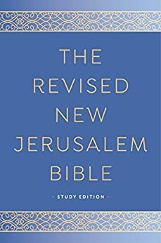 The Revised Hardcover New Jerusalem Bible Study Edition
