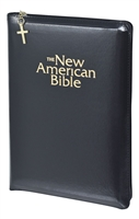 The New American Bible Gift and Award Black Bible W2405Z