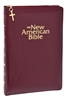 Burgundy The New American Bible Gift and Award Bible W2405ZBG