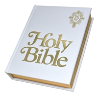 The New American Bible Revised Family Edition (White Cover) WNAB23W