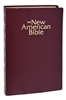 Medium Print New American Holy Catholic Bible Revised Edition, Gift and Award