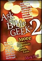 Ask the Bible Geek 2 by Mark Hart