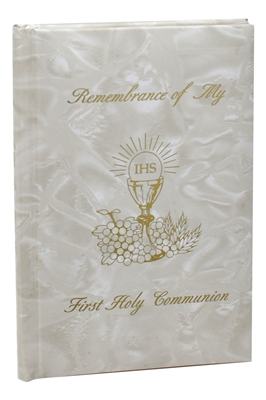 Remembrance Of My First Holy Communion-Girl-White Pearl RG1525718