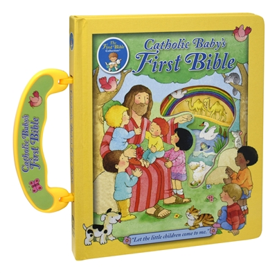CATHOLIC BABY'S FIRST BIBLE (with handle)