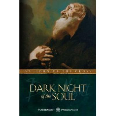 Dark Night of Soul by St. John of the Cross - Catholic Saint Book, Softcover, 208 pp.