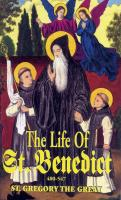 The Life of St. Benedict by Pope St. Gregory the Great