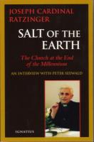 Salt of the Earth by Joseph Cardinal Ratzinger - Spiritual Book, 283 pp.