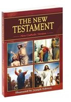 The New Testament: New Catholic Version Words of Christ in Red 311/04