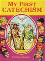 St. Joseph Picture Book Series: My First Catechism 382