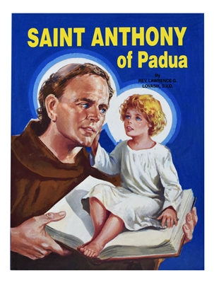 St. Joseph Picture Book Series: Saint Anthony of Padua 386